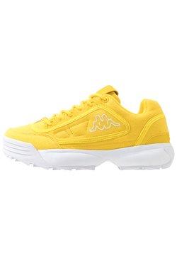 Kappa - RAVE SUN - Trainings-/Fitnessschuh - yellow/white