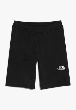The North Face - YOUTH - Short de sport - black/white
