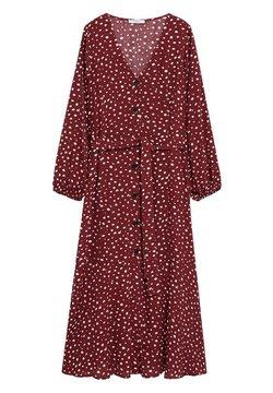 Violeta by Mango - LEOPARD7 - Robe d'été - donkerrood