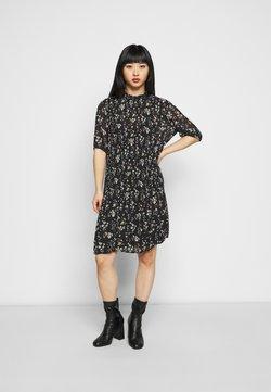 VILA PETITE - VIBLOSSOMS DRESS - Vestido informal - black/aspen