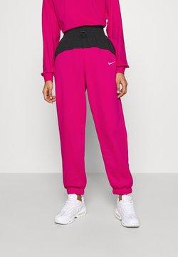 Nike Sportswear - Jogginghose - fireberry/black/white