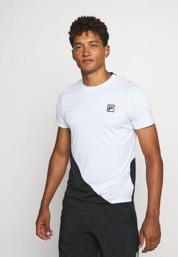Fila - LEON - T-Shirt print - white