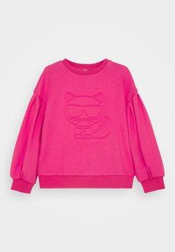 KARL LAGERFELD - Sweater - fuschia