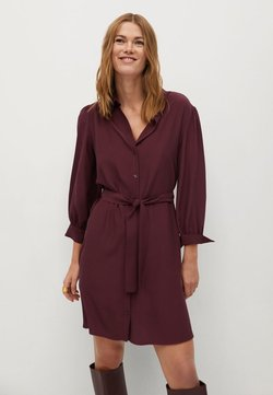 Mango - LEANDRA - Robe chemise - granátová