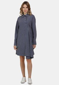 usha - BLUSENKLEID - Vestido camisero - denim blue