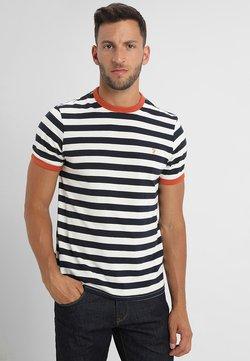 Farah - BELGROVE STRIPE TEE - T-Shirt print - true navy