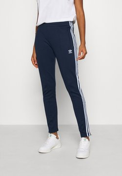 adidas Originals - PANTS - Jogginghose - collegiate navy/white