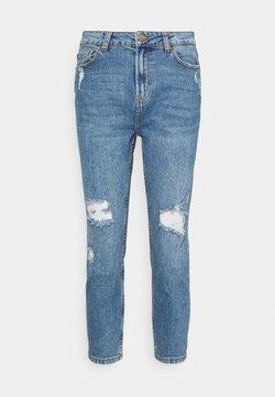 ONLY Petite - ONLEMILY CROP - Straight leg jeans - medium blue denim