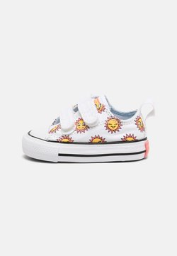 Converse - CHUCK TAYLOR ALL STAR UNISEX - Sneakers basse - white/citron pulse/chambray blue