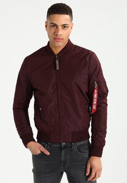 Alpha Industries - Giubbotto Bomber - dark maroon