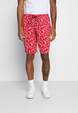 Night Addict - PAISLEY - Shorts - red