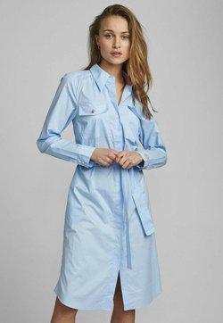 Nümph - NUDAIJA DRESS - Vestido camisero - airy blue