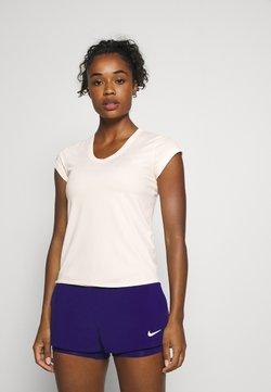 Nike Performance - DRY - Basic T-shirt - guava ice/white