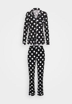 Anna Field - Pyjama - black/white