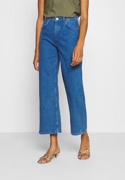 Marc O'Polo DENIM - TOMMA CROPPED - Jeans baggy - pre fall blue