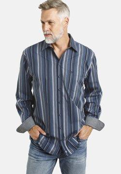 Jan Vanderstorm - KELBY - Hemd - blau gestreift