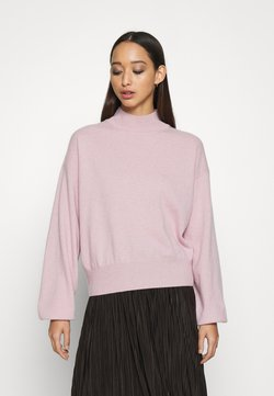 ALIGNE - ATHENA - CASHMERE TURTLE NECK - Sweter - pink