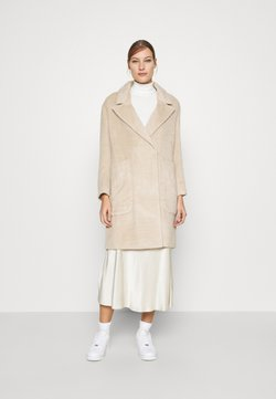 Whistles - DRAWN COCCON COAT - Classic coat - oatmeal