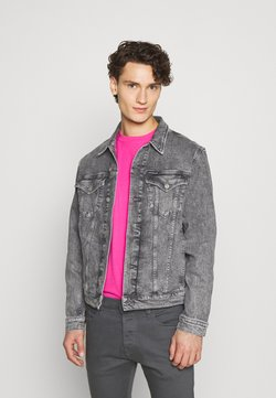 Calvin Klein Jeans - FOUNDATION JACKET - Cowboyjakker - grey