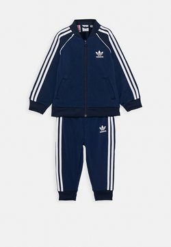 adidas Originals - TRACKSUIT SET - Trainingspak - conavy/white