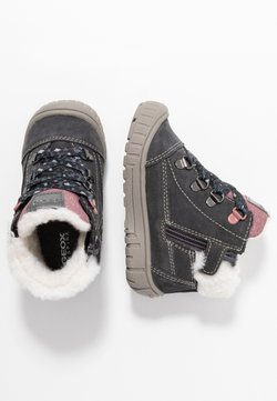 Geox - OMAR GIRL WPF - Lauflernschuh - dark grey
