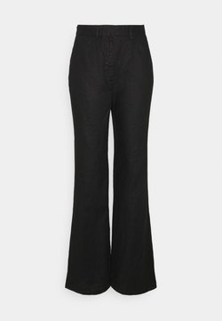 NA-KD Tall - FLARED PANTS - Trousers - black