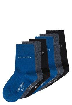 camano - ZBASIC 6 PACK - Socken - navy/jeans