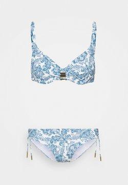 Maryan Mehlhorn - MARYAN PORCELAIN SET - Bikini - white tile