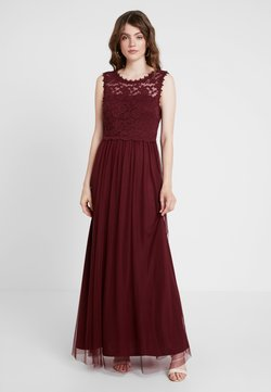Vila - VILYNNEA MAXI DRESS - Suknia balowa - tawny port