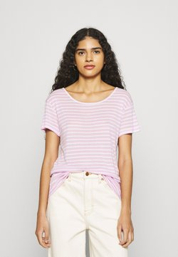mbyM - LUCIANNA - T-Shirt print - lavender/sugar/pink