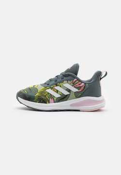 adidas Performance - FORTARUN GRAPHIC UNISEX - Laufschuh Neutral - blue oxide/chalk white/halo green