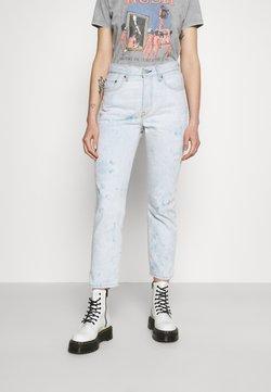 Levi's® - 501 CROP - Straight leg jeans - scribble down lb