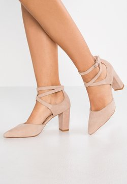 Anna Field - LEATHER CLASSIC HEELS - Zapatos altos - nude