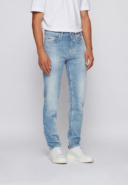BOSS - TABER BC-C - Jeans Tapered Fit - turquoise