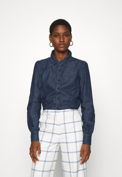 Twist & Tango - THELMA BLOUSE - Button-down blouse - dark blue