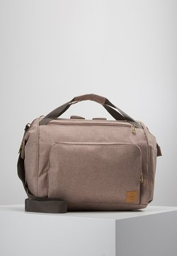 Lässig - GOLDIE TWIN BACKPACK - Baby changing bag - rose