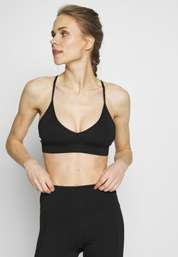 Wolf & Whistle - EXCLUSIVE STRAPPY BACK BRA - Sport BH - black