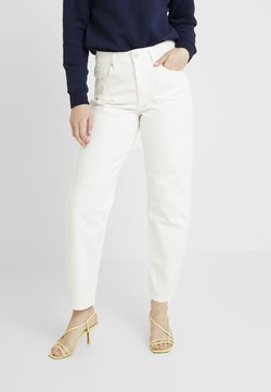 WHY7 - CRISTI CARROT - Jeans baggy - white