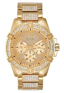 Guess - MENS SPORT - Zegarek - gold-coloured
