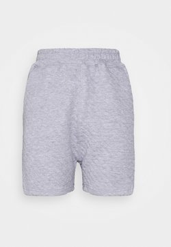 Missguided - QUILTED - Jogginghose - grey