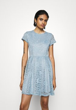 WAL G. - AVERI SKATER DRESS - Juhlamekko - dusty blue grey