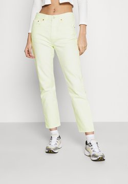 Levi's® - 501® CROP - Jean slim - in the lime