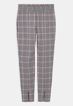 Lindex - ZIA CHECK - Trousers - light lilac