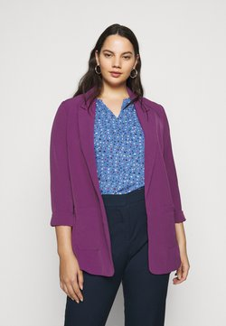 CAPSULE by Simply Be - JACKETS LIGHTWEIGHTS - Blazer - purple