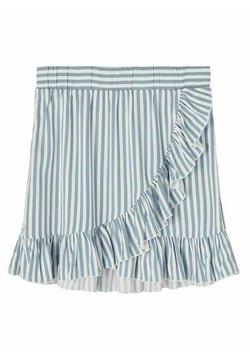 LMTD - Jupe portefeuille - ashley blue
