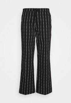 HUF - CORE EASY PANT - Stoffhose - black