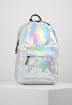 Fila - NEW BACKPACK S'COOL HOLO - Reppu - silver