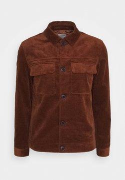 Selected Homme - SLHCHARLIE CORD  - Summer jacket - mottled orange