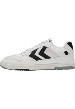 Hummel Hive - POWER PLAY VEGAN ARCHIVE - Sneaker low - white/anthracite