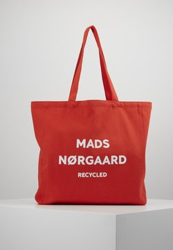 Mads Nørgaard - BOUTIQUE ATHENE - Shopping bag - red/white